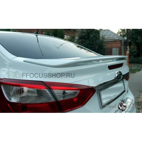 Спойлер  для FORD FOCUS 3 седан (ABS)