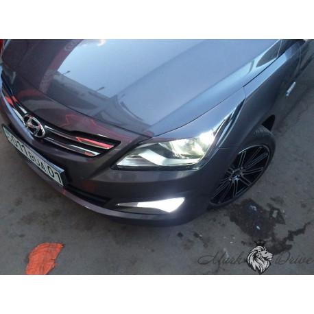 Реснички Hyundai SOLARIS (2011-2014)
