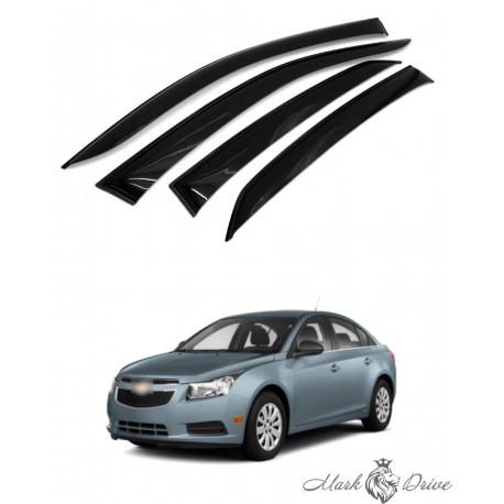 Дефлекторы окон для Chevrolet Cruze
