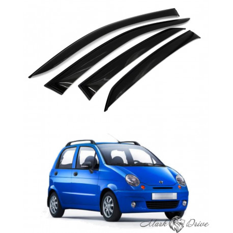 Дефлекторы окон для Daewoo Matiz