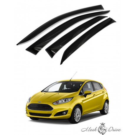 Дефлекторы окон для Ford Fiesta VI 2015+