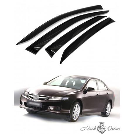 Дефлекторы окон для Honda Accord VII седан 2002-2007 г.