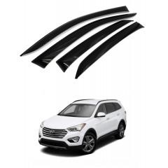 Дефлекторы окон для Hyundai Santa Fe 2012-2018
