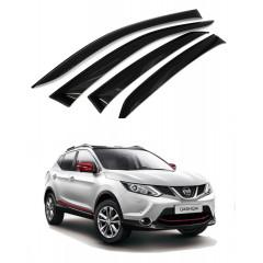 Дефлекторы окон для Nissan Qashqai (J11) 2014 -2019
