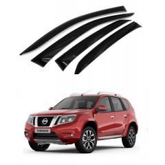 Дефлекторы окон для Nissan Terrano 2014 г.