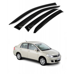 Дефлекторы окон для Nissan Tiida 2004-2014 г.