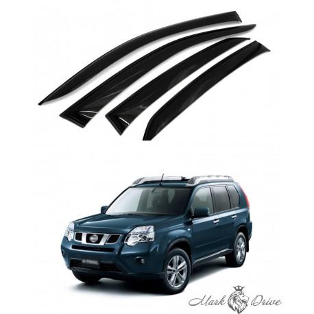 Дефлекторы окон для Nissan X-Trail 2007-2014 г. кузов Т31