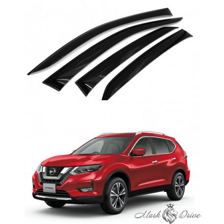 Дефлекторы окон для Nissan X-Trail 2013 кузов Т32