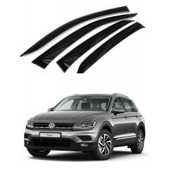 Дефлекторы окон для Volkswagen Tiguan 2017-2019