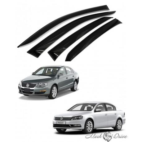 Дефлекторы окон для Volkswagen Passat B6/В7