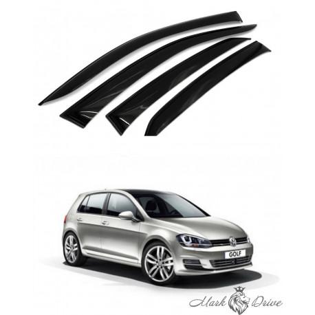 Дефлекторы окон для Volkswagen Golf VII 2012-2019
