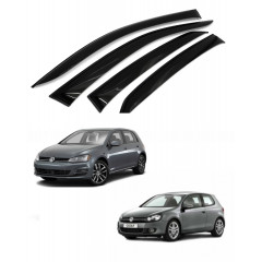 Дефлекторы окон для Volkswagen Golf V - VI  2003-2012
