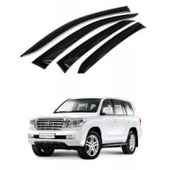 Дефлекторы окон для Toyota Land Cruiser 200 2007-2019
