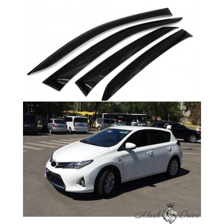 Дефлекторы окон для Toyota Auris 2012-2016 г.
