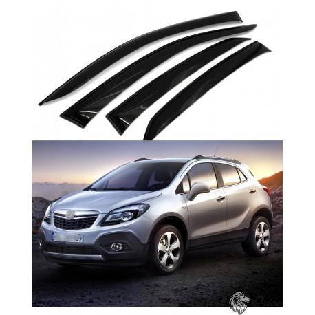Дефлекторы окон для Opel Mokka 2012 г.
