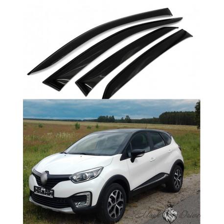 Дефлекторы окон для Renault Kaptur