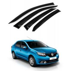 Дефлекторы окон для Renault Logan 2014 г.