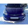 ПТФ + ДХО для Hyundai Solaris (2011-2014)