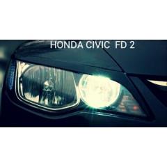 Реснички на фары HONDA CIVIC FD2 2005-2011
