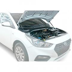 Упоры капота для Hyundai Solaris 2017