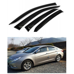 Дефлекторы окон для Hyundai Sonata 2010-2013 г.