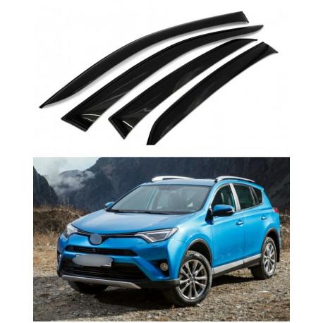 Дефлекторы окон для Toyota RAV 4 IV 2013-2018