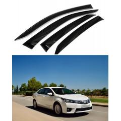 Дефлекторы окон для Toyota Corolla XI 2013-2018