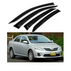 Дефлекторы окон для Toyota Corolla X (E140, E150) 2007-2013