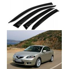 Дефлекторы окон для Mazda 6 2002-2008