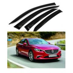 Дефлекторы окон для Mazda 6 седан 2012 г.-2018 GJ