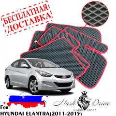 Коврики в салон EVA Hyundai ELANTRA (2011-2015)