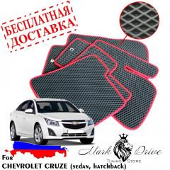 Коврики в салон EVA Chevrolet Cruze