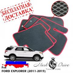 Коврики в салон EVA Ford Explorer (2011-2015)