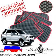 Коврики в салон EVA  Kia  Sportage (2008-2010)