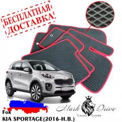 Коврики в салон EVA Kia Sportage (2016-2020)