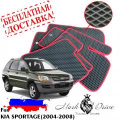 Коврики в салон EVA Kia Sportage (2004-2008)