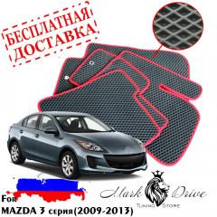 Коврики в салон EVA Mazda 3 СЕРИЯ (2009-2013)
