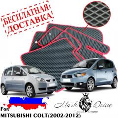 Коврики в салон EVA Mitsubishi Colt (2002-2012) леворульный