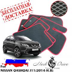 Коврики в салон EVA Nissan J11 (2014-2020)