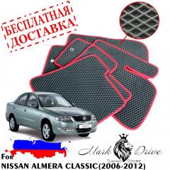 Коврики в салон EVA Nissan ALMERA CLASSIC (2006-2012)