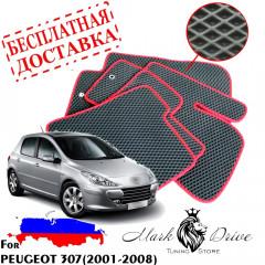 Коврики в салон EVA Peugeot 307