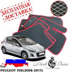 Коврики в салон EVA Peugeot 308 (2008-2015)