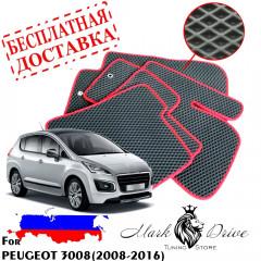 Коврики в салон EVA Peugeot 3008 (2008-2016)