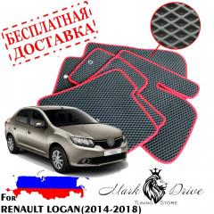 Коврики в салон EVA Renault LOGAN (2014-2018)
